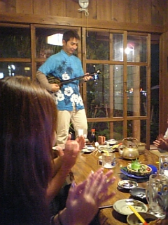 奄美大島沖縄夜の研修
